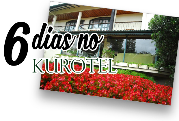 Minha experiência durante os 6 dias que fiquei no Kurotel
