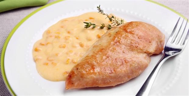 Receita deliciosa: filé de frango ao molho de milho!