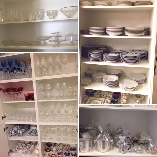 Organização dos armários da casa nova by ORGANNIZE!