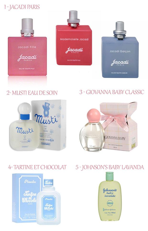 Perfumes para os pequenos!