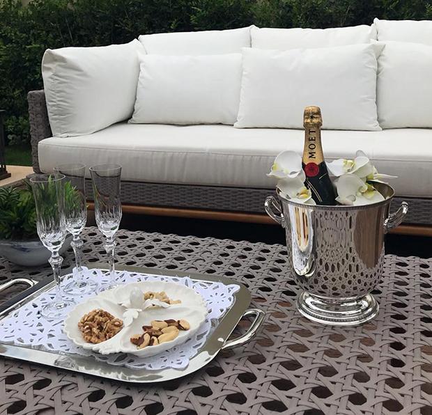 Como decorar uma champanheira!