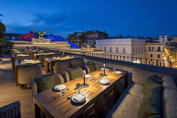 Restaurantes em Roma!