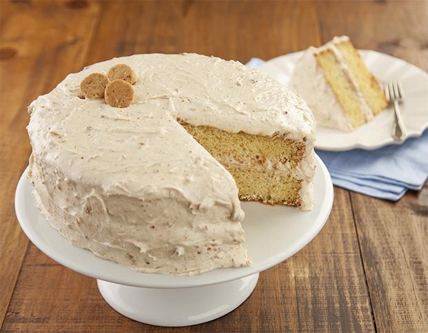 Receitinha do dia: bolo gelado de paçoca!