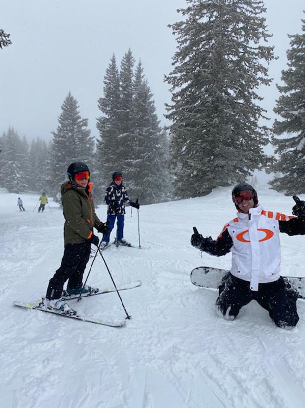Viagem de esqui com crianças!