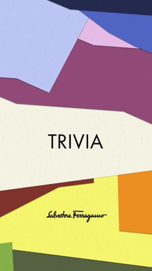 Salvatore Ferragamo apresenta o projeto TRIVIA!