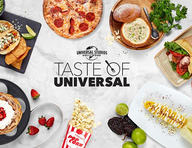 "Universal Studios Hollywood oferece o ""Taste of Universal""!"