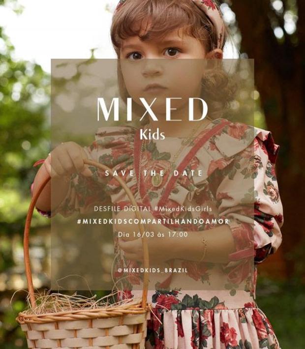 Mixed Kids celebra nova coleção em desfile digital!