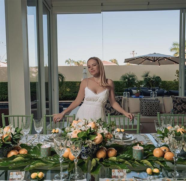 Decor do dia: pré noivado da Marcela!