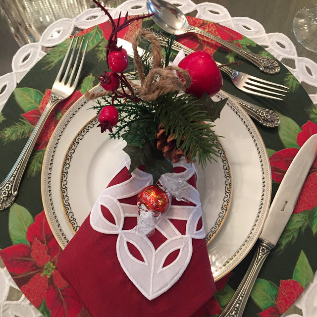 Inspiração: mesas de Natal