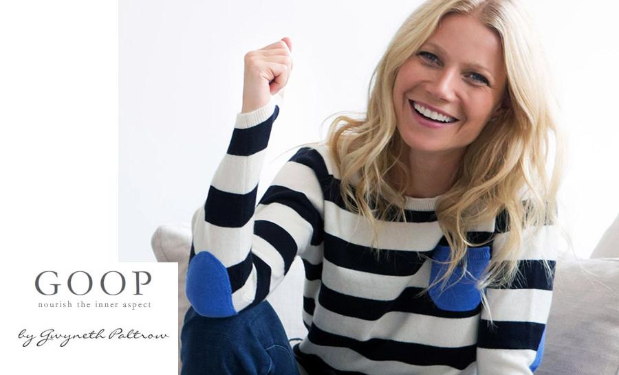 Conheça mais sobre o Goop – Site criado pela atriz Gwyneth Paltrow
