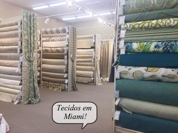 Tecidos em Miami e Boca Raton!