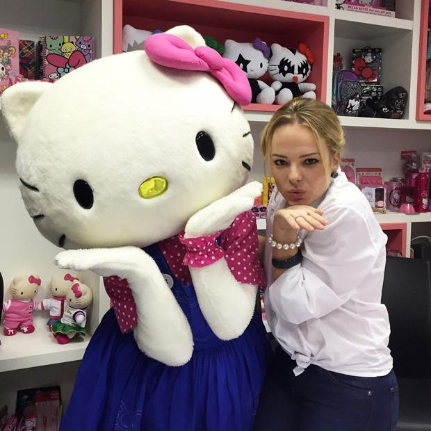 Uma tarde com a Hello Kitty!