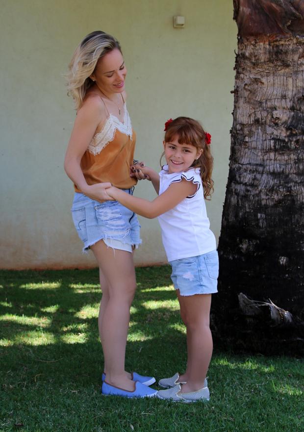 Sapatos mãe e filha!