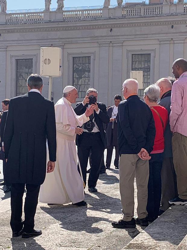 Audiência com o Papa no Vaticano!