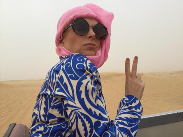 Nossa experiência no Deserto de Dubai!