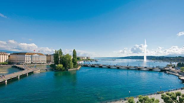Four Seasons Hotel des Bergues, em Genebra!