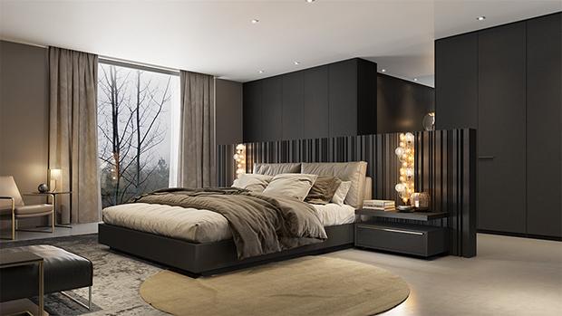 Mobiliário preto em alta no décor!