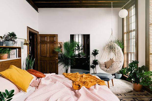Plantas no quarto ajudam a purificar e umedecer o ar e podem garantir uma noite de sono mais tranquila!