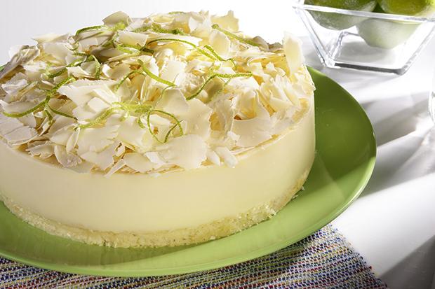 Receita do Dia: torta de limão com chocolate branco!