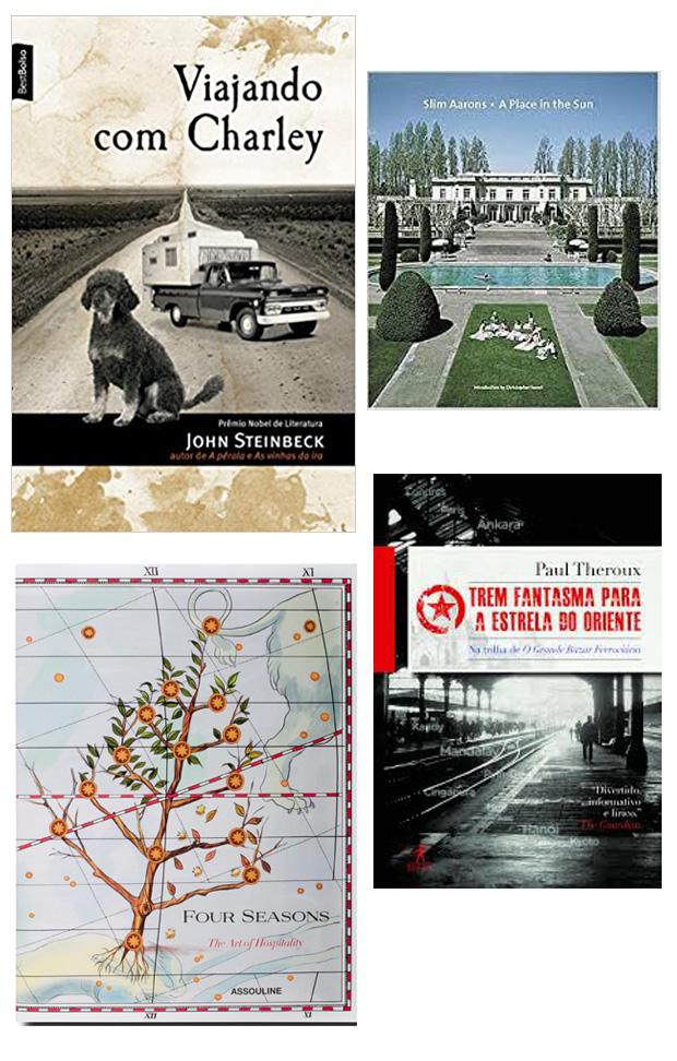 4 livros de viagens para se inspirar!