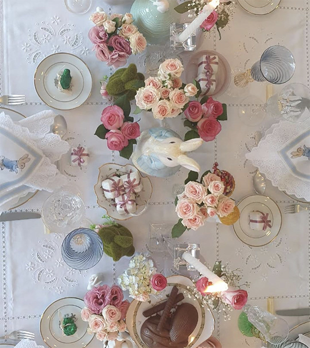 Uma mesa de Páscoa muito especial!