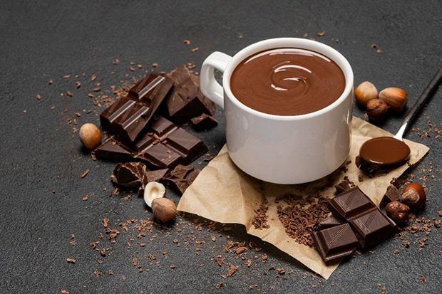 Chocolate quente cremoso by Divino Fogão!