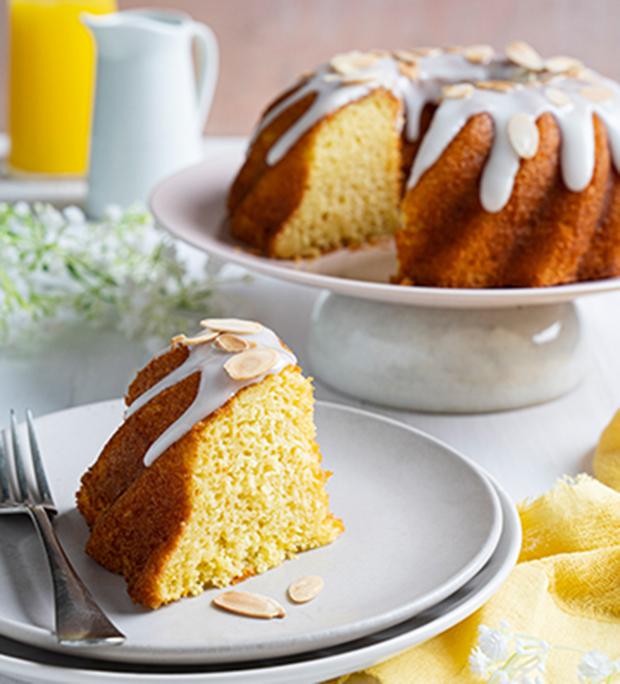 Receita de bolo de laranja com amêndoa!