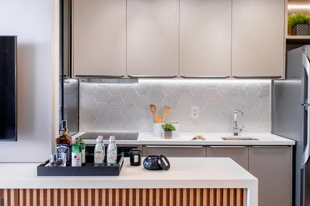 Modernidade, leveza e suavidade tudo que um apartamento aconchegante merece!